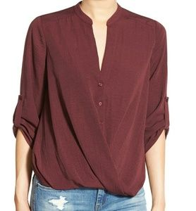 NWT Lush Twist Front Top